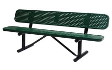 Expanded, Bench with backrest, 96inch