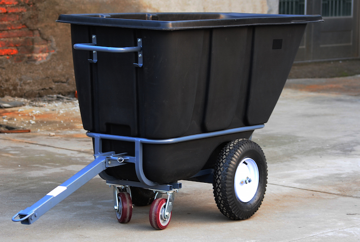 1/2 yd. Tilt Truk, towable