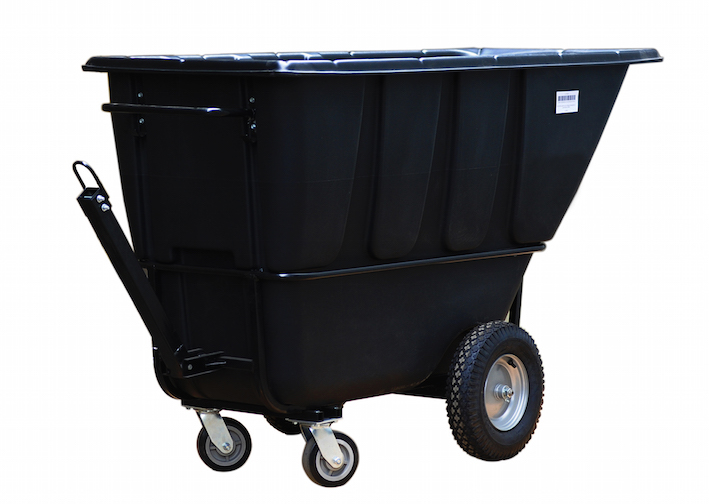 1 yd. Tilt Truk, towable