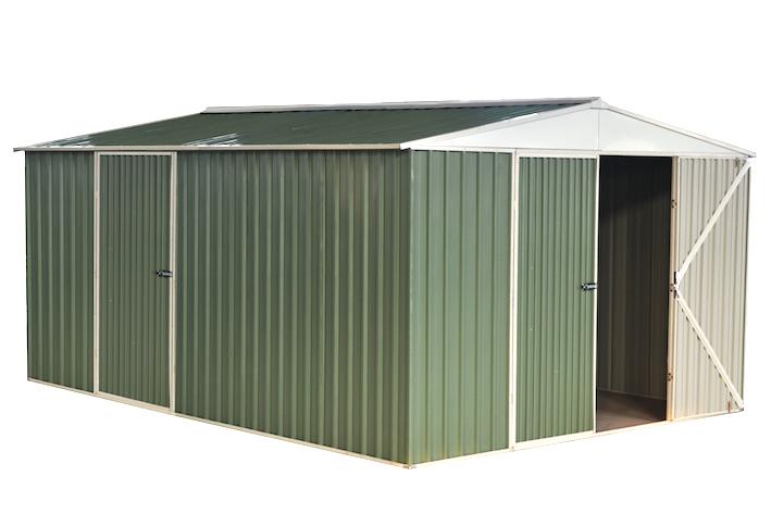 12x14ft Stahl Garage