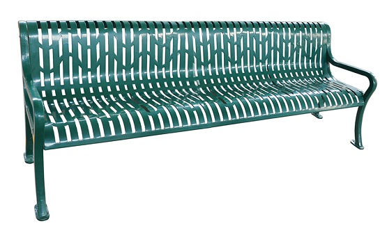 Bench, Diamond Pattern, 98inch