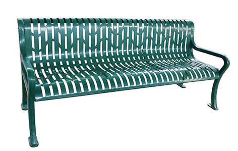 Bench, Diamond Pattern, 74inch