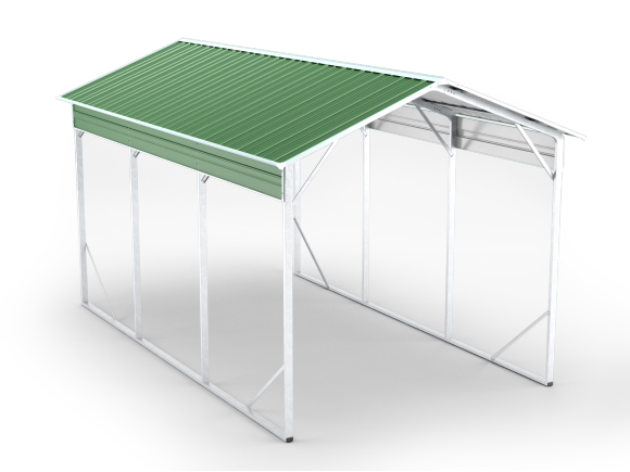 ED3X60-V4,12 x 20ft Vehicle Shelter