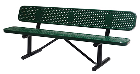 Perforated, Bench 72inch