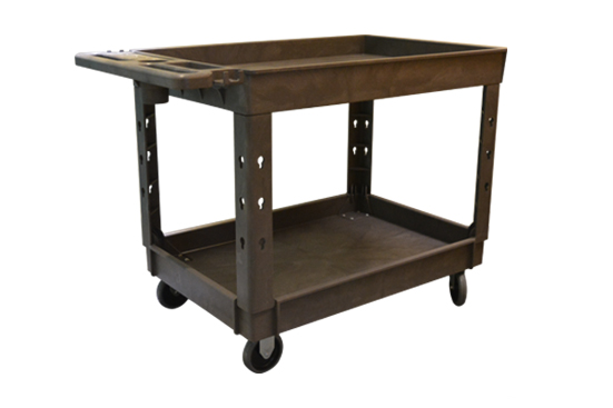 Large 2 Shelf Tray Cart