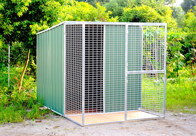 6x9ft Mesh Shed & Dog Kennels for sale