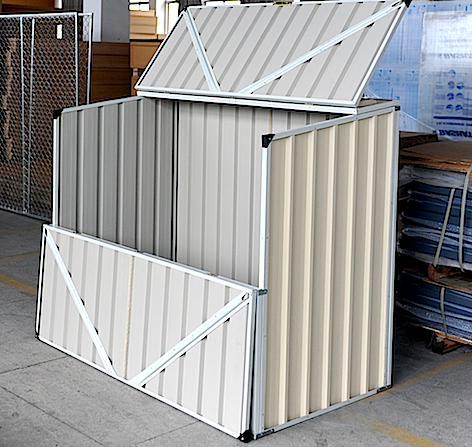 5x3x4ft Pump Sheds for sale