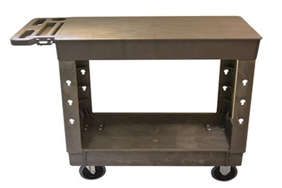 Large 2 Shelf Flat Cart for sale