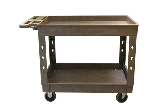 Large 2 Shelf Tray Cart for sale
