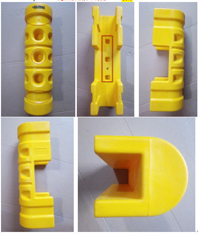 Rack Protector with Cutout for sale