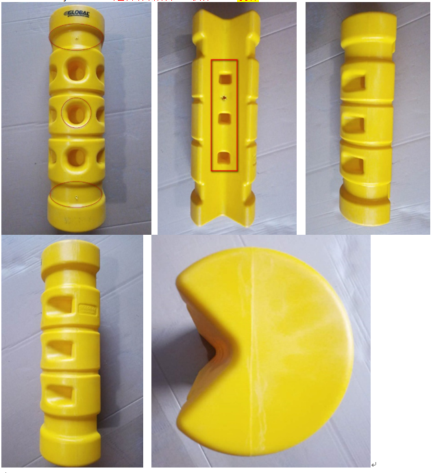 Rack Protector, Rack End Mounting for sale